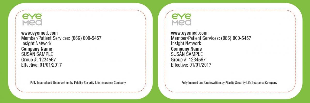 Insurance Cards Human Resources